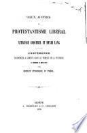 Deux apôtres du Protestantisme libéral Anathase Coquerel et Henri Lang