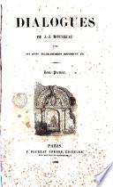 Dialogues de J. J. Rousseeau, 1