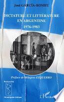 Dictature et littérature en Argentine
