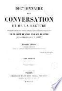 Dictionnaire de la conversation et de la lecture, 1