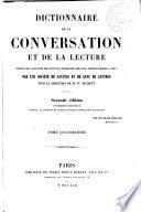 Dictionnaire de la conversation et de la lecture, 14