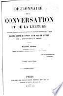 Dictionnaire de la conversation et de la lecture, 9