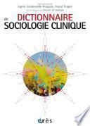 Dictionnaire de sociologie clinique