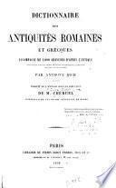 Dictionnaire des antiquities romaines et grecques