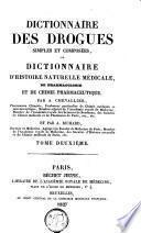 Dictionnaire des drogues simples et composées