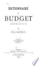 Dictionnaire du budget