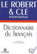 Dictionnaire du français langue étrangère CLE - Le Robert - Ebook