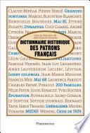 Dictionnaire historique des patrons francais