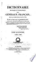Dictionnaire historique et biographique des généraux français, depuis le onzième siècle jusqu'en 1820