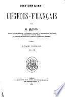 Dictionnaire liégeois-français