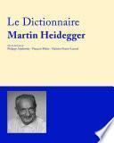 Dictionnaire Martin Heidegger
