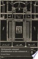 Dictionnaire raisonné d'architecture et des sciences et arts qui s'y rattachent: Jabloir-Pont