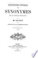 Dictionnaire universel des synonymes de la langue Française
