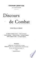 Discours de combat