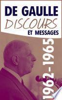 Discours et messages, tome 4 : 1962-1965