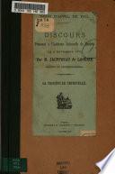Discours prononcé à l'audience solennelle de rentrée le 3 novembre 1875
