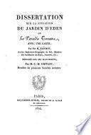 Dissertation sur la situation du jardin d'Eden