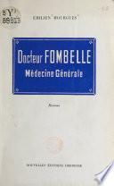 Docteur Fombelle, médecine générale