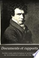 Documents et rapports