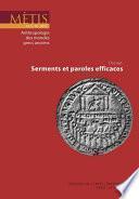 Dossier : Serments et paroles efficaces