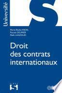 Droit des contrats internationaux
