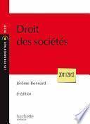 Droit des sociétés - 2011/2012