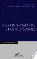 Droit international et conflits armés