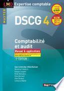 DSCG 4 Comptabilité et audit manuel et applications 8e édition Millésime 2015-2016