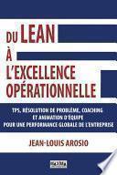 Du Lean à l'excellence opérationnelle