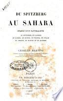 Du Spitzberg au Sahara
