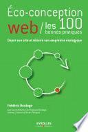 Eco-conception web - Les 100 bonnes pratiques