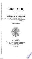 Édouard, par l'auteur d'Ourika ...