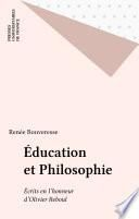 Éducation et Philosophie