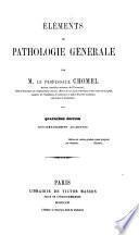 Élémens de pathologie générale