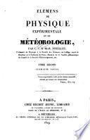 Elémens de physique expérimentale et de météorologie