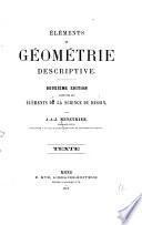 Éléments de géométrie descriptive