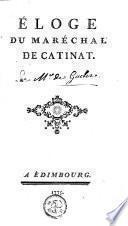 Éloge du Maréchal de Catinat