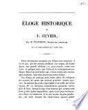 Éloge historique de F. Cuvier