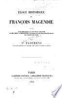 Eloge historique de François Magendie
