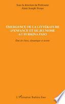 Emergence de la littérature d'enfance et de jeunesse au Burkina Faso