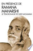 En présence de Ramana Maharshi