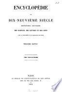 Encyclopédie du dix-neuvième siècle