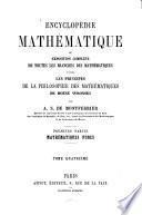 Encyclopédie mathématique