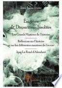 Énigmes & Disparitions Insolites