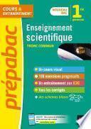 Enseignement scientifique 1re (tronc commun) - Prépabac Cours & entraînement