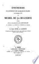 Éphéméride de l'expédition des Allemands en France (aoùt-décembre 1587)