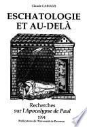 Eschatologie et au-delà