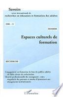 Espaces culturels de formation