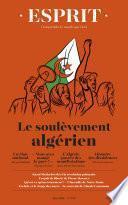 Esprit juin 2019 Le soulèvement algérien