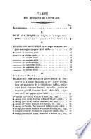Essai analytique sur l'origine de la langue française et sur un recueil de monumens authentiques de cette langue...